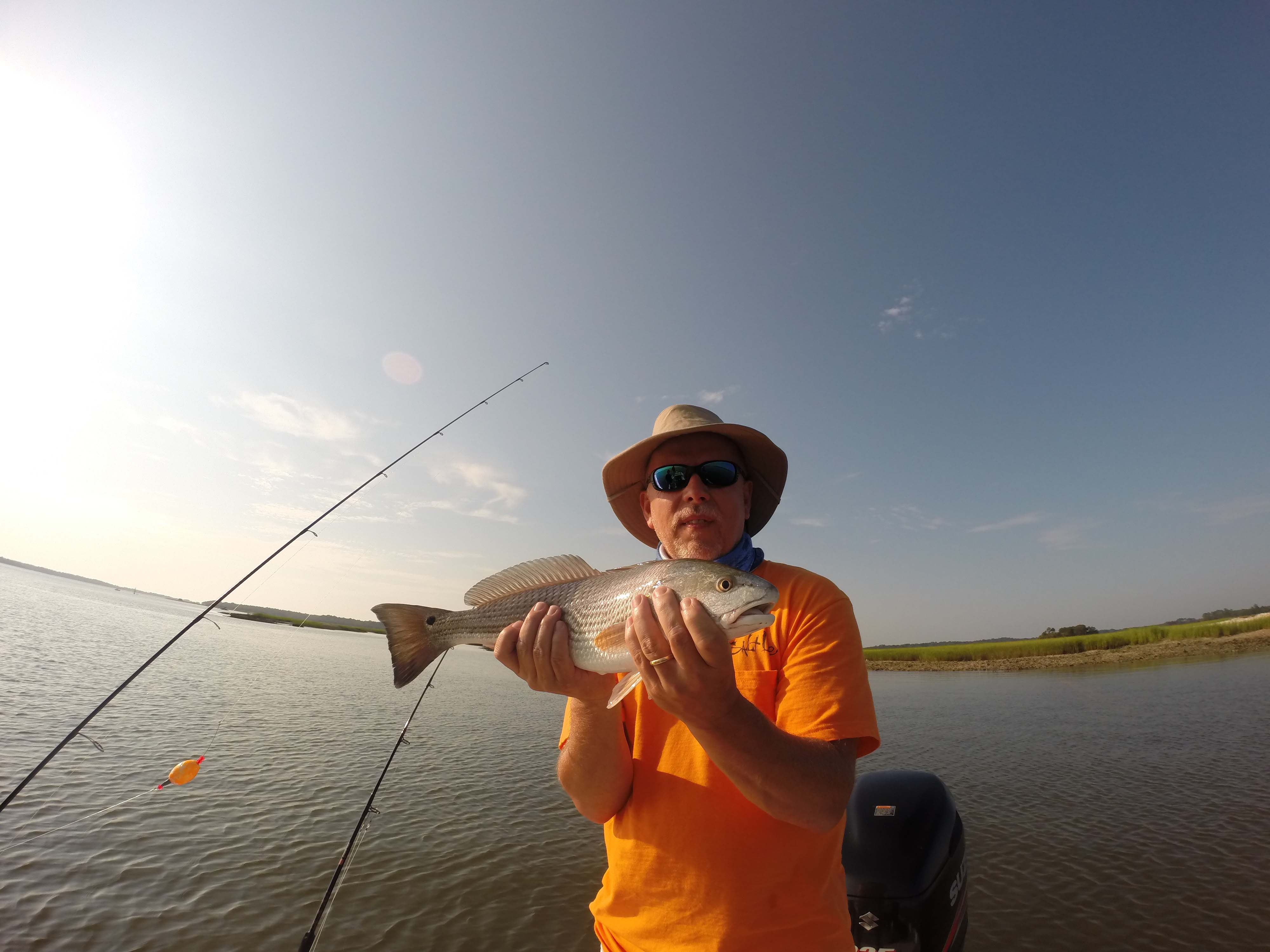 Kiawah and folly beach fishing report charter fishing for Charleston fishing com